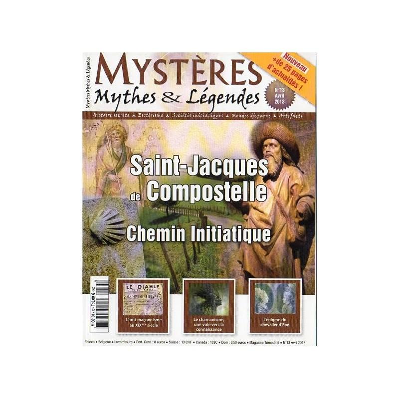 Mystères n° 13 - Saint-Jacques de Compostelle, chemin initiatique