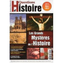 Questions d'Histoire n° 11 - Les Grands Mystères de l'Histoire