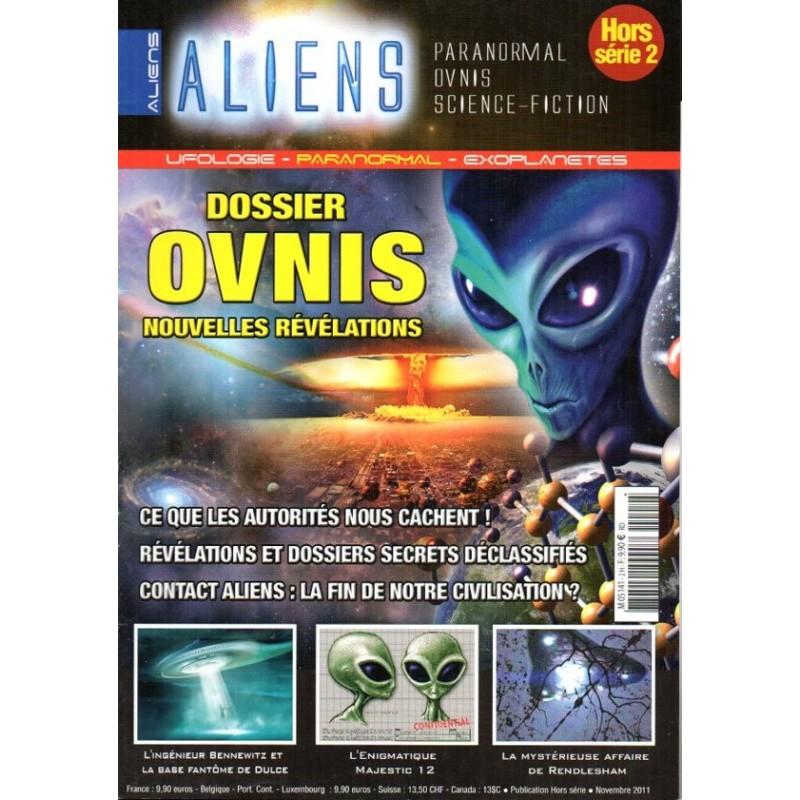Aliens n° 2H - Dossier OVNIS, nouvelles révélations