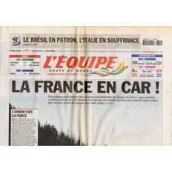 21 juin 2010 - L'Équipe (Complet) - La France en Car !