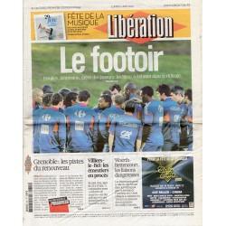21 juin 2010 - n° 9052 - Libération (Complet) - Le Footoir