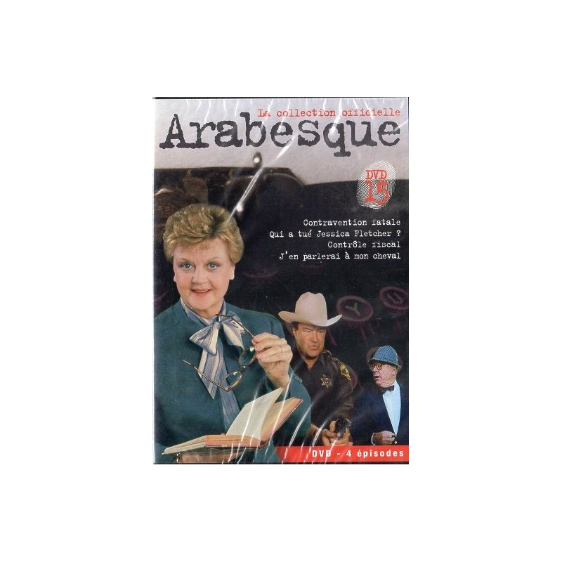 Arabesque - DVD n° 15 de la Collection officielle - DVD Zone 2