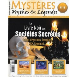 Mystères n° 15 - Le Livre Noir des Sociétés Secrètes