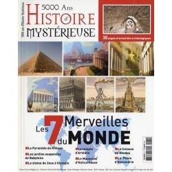 5000 ans d'histoire mystérieuse n° 21 - Les 7 Merveilles du Monde
