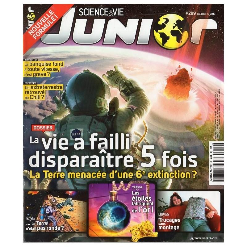 Science & Vie Junior n° 289S - La Vie a failli disparaître 5 fois