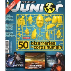 Science & Vie Junior n° 291 - 50 bizarreries du corps humain