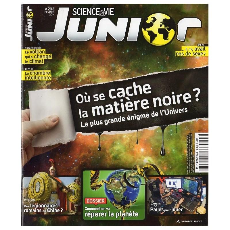 Science & Vie Junior n° 293 - Où se cache la matière noire ?