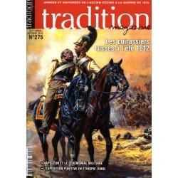 tradition magazine n° 275 - Les cuirassiers russes à l'été 1812