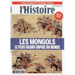 L'Histoire n° 392 - Les Mongols, le plus grand Empire du Monde