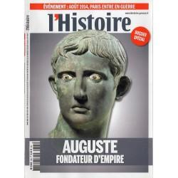 L'Histoire n° 395 - Auguste, Fondateur d'Empire