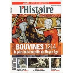L'Histoire n° 399 - Bouvines 1214, la plus belle bataille du Moyen Age