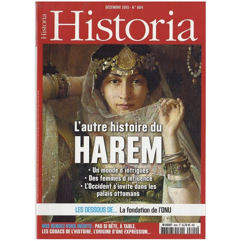 Historia n° 804 - L'autre histoire du Harem