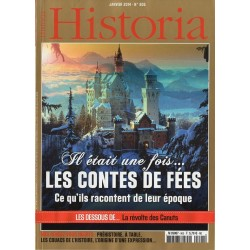 Historia n° 805 - Il était une fois... Les Contes de Fées