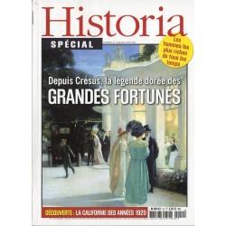 Historia Spécial n° 12 - Depuis Crésus, la légende dorée des Grandes Fortunes