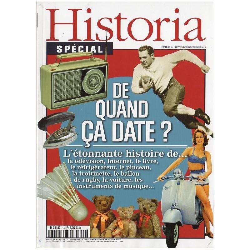 Historia Spécial n° 14 - De quand ça date ?