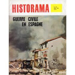 Historama n° 163 - Guerre Civile en Espagne