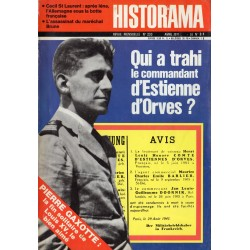 Historama n° 233 - Qui a trahi le commandant d'Estienne d'Orves ?