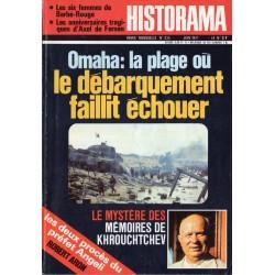 Historama n° 235 - Omaha : la plage où le débarquement faillit échouer