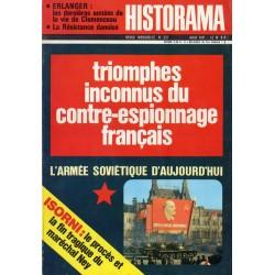 Historama n° 237 - Triomphes inconnus du contre-espionnage français