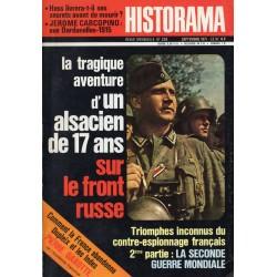 Historama n° 238 - La tragique aventure d'un alsacien de 17 ans sur le front russe