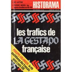 Historama n° 243 - Les trafics de la Gestapo française