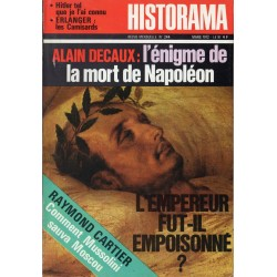 Historama n° 244 - L'énigme de la mort de Napoléon (Alain Decaux)
