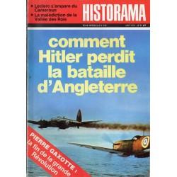 Historama n° 249 - Comment Hitler perdit la bataille d'Angleterre