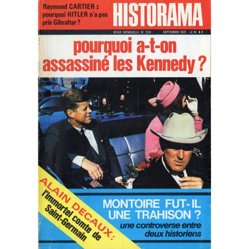 Historama n° 250 - Pourquoi a-t-on assassiné les Kennedy ?