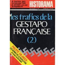 Historama n° 251 - Les trafics de la Gestapo française (2)
