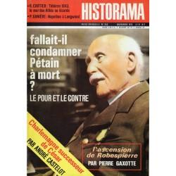 Historama n° 252 - Fallait-il condamner Pétain à mort ? le pour et le contre