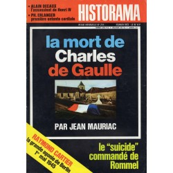 Historama n° 255 - La mort de Charles de Gaulle (par Jean Mauriac)