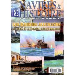 Navires & Histoire n° 82 - Les Raiders Allemands au cours de la Première Guerre Mondiale