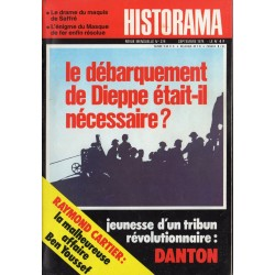 Historama n° 274 - Le débarquement de Dieppe était-il nécessaire ?
