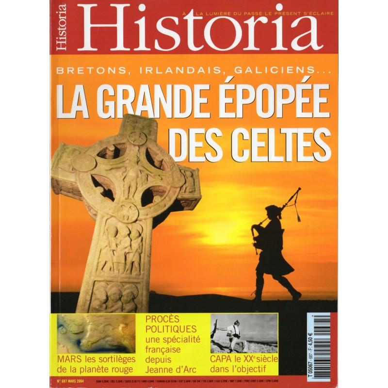 Historia n° 687 - La grande Epopée des Celtes : Bretons, Irlandais, Galiciens...