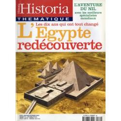 Historia Thématique n° 69 - L'Egypte redécouverte, les dix ans qui ont tout changé