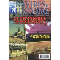 """Navires & Histoire n° 79 - La Titanesque """"Rencontre de Leyte"""" partie 2"""