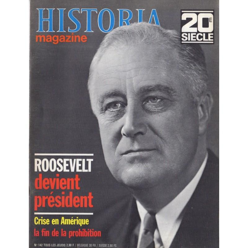 Historia Magazine 20e siècle n° 142 - Roosevelt devient Président