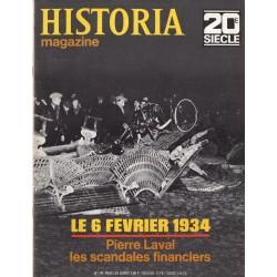Historia Magazine 20e siècle n° 141 - Le 6 février 1934, Pierre Laval & les scandales financiers