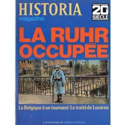 Historia Magazine 20e siècle n° 138 - La Ruhr occupée
