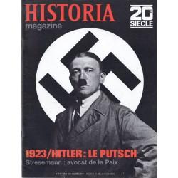Historia Magazine 20e siècle n° 137 - 1923 / Hitler : le Putsch
