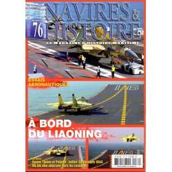 Navires & Histoire n° 76 - Essais aéronautiques, A bord du Liaoning