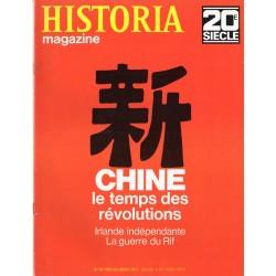 Historia Magazine 20e siècle n° 134 - Chine, le temps des révolutions