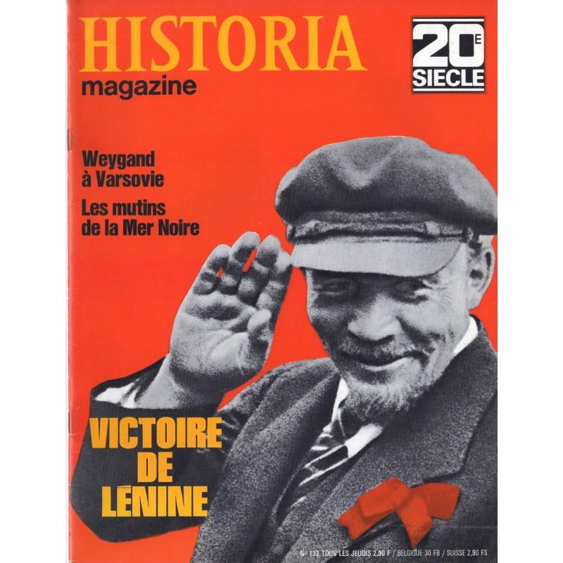 Historia Magazine 20e siècle n° 132 - Victoire de Lénine