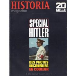Historia Magazine 20e siècle n° 130 - Spécial Hitler : des photos inconnues en couleur
