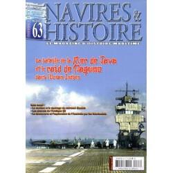 Navires & Histoire n° 63 - La Bataille de la Mer de Java et le raid de Nagumo dans l'océan Indien