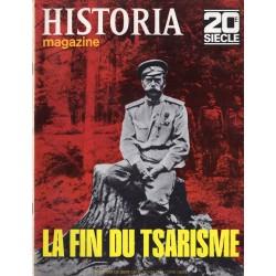 Historia Magazine 20e siècle n° 122 - La Fin du Tsarisme