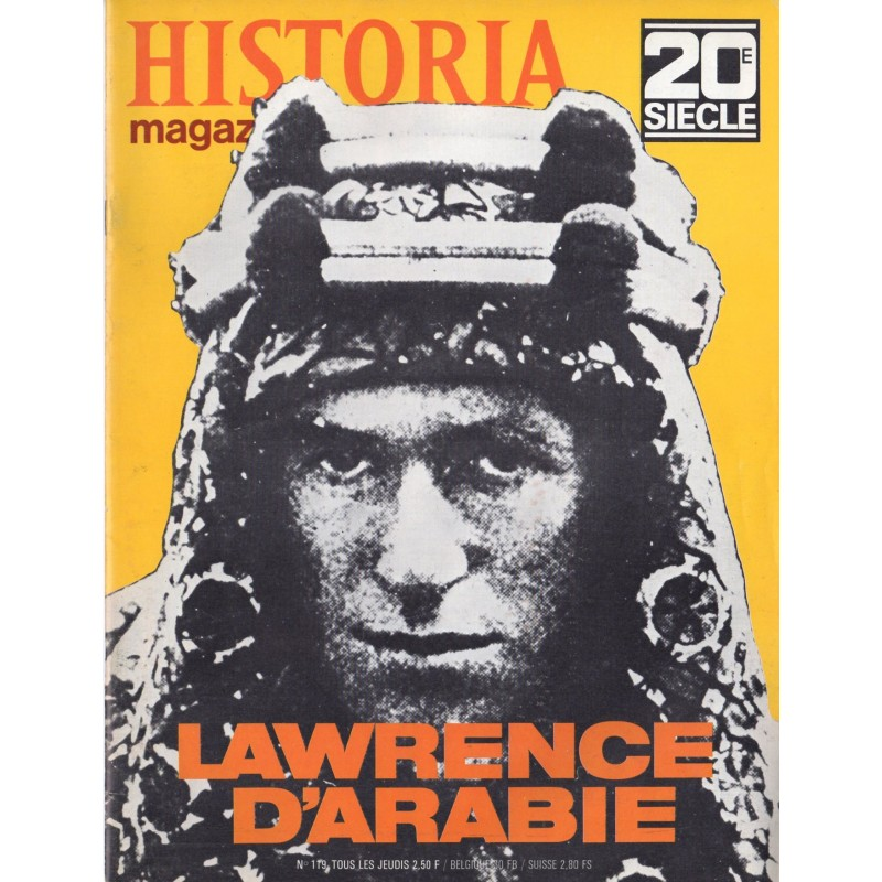 Historia Magazine 20e siècle n° 119 - Lawrence d'Arabie