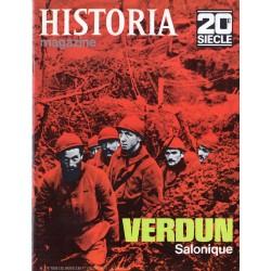 Historia Magazine 20e siècle n° 118 - Verdun - Salonique