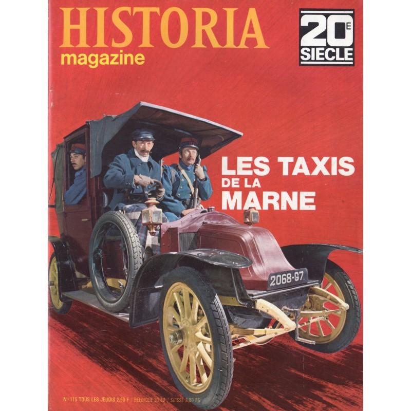 Historia Magazine 20e siècle n° 115 - Les Taxis de la Marne