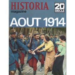 Historia Magazine 20e siècle n° 114 - Aout 1914